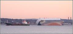 Hoegh Osaka (Maw*Maw) Tags: sea sky canon eos twilight ship 7d beached salvage grounded photshop cs6