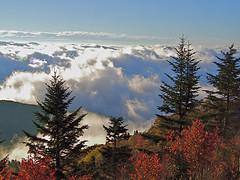 Waterrock Knob, Blue Ridge Parkway (esywlkr) Tags: sky mountains clouds landscape nc northcarolina blueridgeparkway wnc waterrockknob warrenreed