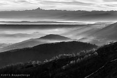 Prealpi Biellesi (beppeverge) Tags: sunset blackandwhite landscape tramonto paesaggio biancoenero bielmonte oasizegna biellese panoramicazegna prealpibiellesi beppeverge