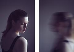 purple haze (Karley Knight) Tags: longexposure light portrait selfportrait blur fashion contemporary minimal portraiture editorial faceless simple femininity femaleform 2015 personalwork inpurple fashionportriture