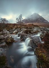 Buachaille Etive Mor (Visible Landscape) Tags: uk longexposure motion scotland highlands buachailleetivemor rivercoupall visiblelandscape