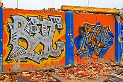 Graffiti 01 (Quo Vadis2010) Tags: art tom painting graffiti se ruins paint grafitti message sweden empty konst doodle graffitti expressive scrawl lonely sverige solitary revolt scribble halmstad tegel disrepair klotter halland industri industrialruins unoccupied ödslig måla målning bostäder rivning förfall övergiven bruk kludd väggmålning budskap slottsmöllan abandonedruin tegelbruk spraya meansofexpression affärer självförverkligande enslig övergivenindustri industriiförfall municipalityofhalmstad formerbrickworks youthrevolt halmstadkommun norrainfarten wayofexpressingoneself uttrycksform sättattuttryckasig ungdomsrevolt synliggörande industryindisrepair föredettategelbruk underrivning kommandebostadsbebyggelse spreja konstnärligayttringar slottsmöllansbruk