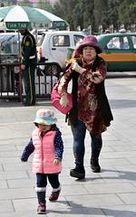 Better catch up, Grandma...Temple of Heaven (Beijing) (stevelamb007) Tags: china nikon child grandmother beijing streetscene templeofheaven nikkor18200mm stevelamb d7200