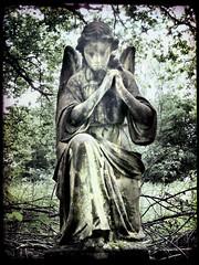 Nunhead angel (buckaroo kid) Tags: uk london angel tombstone nunhead nunheadcemetery