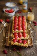 IMG_9558_exp (Helena / Rico sin Azcar) Tags: strawberry berries vanilla tart tarta fresas pastrycream vainilla cremapastelera