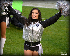 2015 Oakland Raiderette Jacqulyn @ Coliseum (billypoonphotos) Tags: woman black girl lady silver photography oakland photo dance football team nikon pretty photographer cheerleaders nfl nation picture dancer packers coliseum females cheerleading squad fabulous raiders raider 2015 raiderette raiderettes raidernation jacqulyn d5200 billypoon billypoonphotos