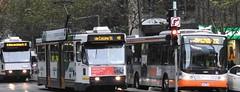 A287 @ Smartbus #8617 on Route 232 (damos photos) Tags: bus ptv collinsst aclass melbournetrams 2016 yarratrams 8617 route232 smartbus a287