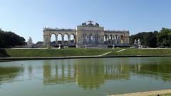 Schnbrunn Palace, Vienna, Austria. (Annie.A.Ko) Tags: schnbrunn vienna lake reflection architecture outside austria europe outdoor palace
