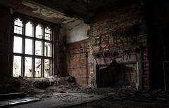 Burn Them (Rodney Harvey) Tags: urban cold abandoned church fireplace grafitti decay tag indiana burn gary mantel urbex