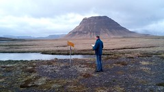 When you do a road trip through Iceland and have no clue what a sign in your chosen wild camping spot means ... ;) :p (lunaryuna) Tags: funny oliver lunaryuna wedontspeakicelandic babylonischesprachverwirrung