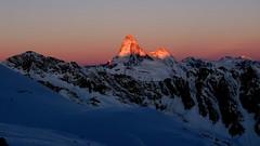 Sonnenaufgang Matterhorn (pfufiseggfotografie) Tags: sonnenaufgang wallis 4000 rimpfischhorn gletschertour skihochtouren