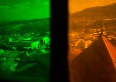 Multi coloured stained glass windows in rimbaud house, Harari region, Harar, Ethiopia (Eric Lafforgue) Tags: africa house color history glass horizontal museum architecture outdoors photography design town ancient day indian colonial multicoloured nobody stainedglass nopeople unescoworldheritagesite colored ethiopia oldtown hornofafrica eastafrica thiopien harar rimbaud etiopia abyssinia ethiopie etiopa homeinterior harari oromo  traveldestination etiopija ethiopi  ethnicgroup etiopien etipia  etiyopya  builtstructure residentialstructure   rimbaudhouse  harariregion      hararjugol harergey ethio162948