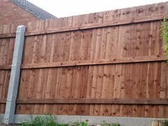 Fence complete