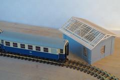 IMGP3349 (kudrdima) Tags: railroad model russia railway guardhouse oldtime     gauge1  gaugeg scaleg spuriim   125