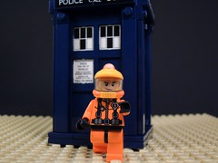 Setting Foot on Mars (MrKjito) Tags: mars david lego who 10 space 4 special suit doctor waters series minifig tardis tennant