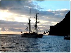 FatuHiva_7484 (Slackadventure) Tags: sun water boats islands sailing pacificocean cruisers circumnavigation marquesas slackadventure