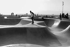 Venice Skate Sesh (Marisa Sanders Photography) Tags: canon canon7d california cali adventure adventures explore skate skateboard skateboarding venice veniceskatepark blackandwhite black white bw monochrome silhouette