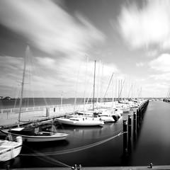boats (kuestenkind) Tags: balticsea ostsee kiel langzeitbelichtung longtimeexposure frde schilksee