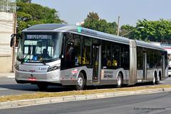 7 2371 (American Bus Pics) Tags: urban bus colors sãopaulo mercedesbenz ônibus brt omnibus uda brs articulado lowfloor campobelo o500 pisobaixo pisobajo millenniumbrt