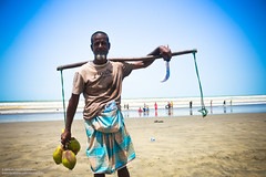 The Working People (IamMinhaj) Tags: sea sky beach water landscape sand tour outdoor bangladesh bayofbengal coxsbazar longestbeach