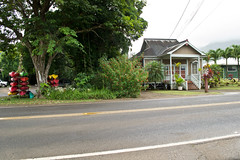 Kuhio Hwy. Hanalei, Hawaii (seanmugs) Tags: architecture hawaii streetscene kauai streetscape hanalei hanaleihawaii