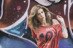 Raquel LaBelle (Sesin Grafitti 001) (Davpan) Tags: grafitti retrato modelo radical msica vigo dfa vocalista cantante personaje tlc sesin luznatural davpan nikond810 dfafotografa raquellabelleoficial