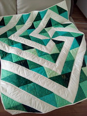 Emerald-lap-quilt_000010 (irina_vykhrestiuk) Tags: modern quilt handmade homemade twin kid child patchwork bedding bed quilting memory throw