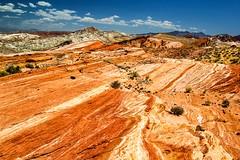 Firewave Vista (evanffitzer) Tags: old valleyoffire rock landscape desert lasvegas stripes nevada wide formation sediment vista geology hdr striations expanse firewave geologic canoneos60d evanffitzer evanfitzer