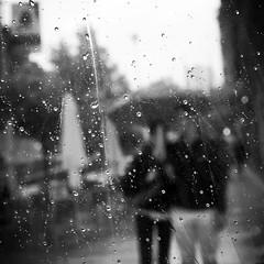 Rain again (no sabemos cmo llamarnos) Tags: street people urban blackandwhite blancoynegro water rain agua noiretblanc streetphotography drop donosti