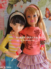 Tag Game: Love is here (Barbie dolls by RCA) Tags: sisters stacie dolls sister chocolate barbie rement lollipop ruruko
