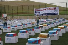 Emergency Relief prepared for displaced families in Harir (Ummah Welfare Trust) Tags: poverty children war islam iraq relief hunger muslims humanitarian kurdistan العراق welfare humanitarianism ummah عێراق