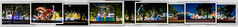 outside the fair gates picture collage (pbo31) Tags: california trees summer panorama color june collage night evening nikon spin large fair panoramic photographs spinning bayarea rides eastbay bernal stitched pleasanton alamedacounty 2016 lightstream boury pbo31 d810