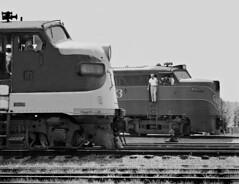 GM&O, Meridian, Mississippi, 1958 (railphotoart) Tags: mississippi unitedstates meridian 753 stillimage 4157