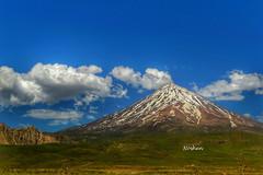 Damavand mount (Noshen.M) Tags: iran damavand landscape mount mountain sky spring lar