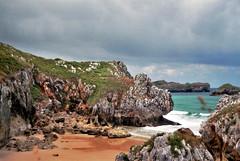 Playa San Martin (Skylark92) Tags: sea spain asturie espana spanje asturias llanes playa beach strand san martin bay baai