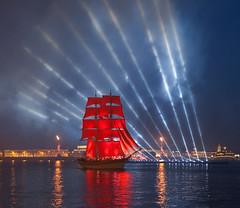 Saint Petersburg: Scarlet sails (alex.yurko) Tags: show light saint scarlet sails petersburg celebration