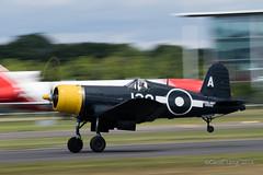 Vought F4U Corsair-8 (Clubber_Lang) Tags: airshow corsair farnborough f4u vought fia2016