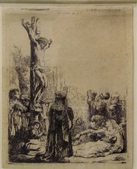 Rembrandt van Rijn (rocor) Tags: dutch museum etching crucifixion ucberkeley bampfa rembrandtvanrijn