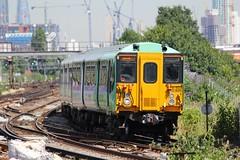 455828 Clapham Junction 18.07.16 (jonf45 - 2.5 million views-Thank you) Tags: electric dc br rail trains junction class southern multiple emu british railways clapham 3rd unit 455 4558 455828