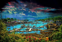 Camden Harbor (Rusty Russ) Tags: photoshop hotoshop flickr google bing daum yahoo image stumbleupon facebook getty national geographic magazine creative creativity montage composite manipulation color hue saturation flickrhivemind pinterest reddit flickriver t pixelpeeper blog blogs openuniversity flic twitter alpilo commons wiki wikimedia worldskills oceannetworks ilri comflight newsroom fiveprime photoscape winners all white air eye art landscape instagram digital light new high exposure style camden maine clouds sky water artistic android tumblir red blue green young photographers people paint brush pin