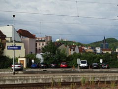 Hauptbahnhof (Letty*) Tags: castlesfortresses eisenach europe germany livinginhanover trainstrainstations travel