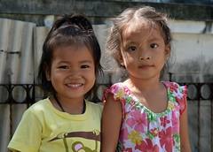 cute playmates (the foreign photographer - ) Tags: aug72016nikon two cute girls playmates soi phahoyolthin 63 bangkhen bangkok thailand nikon d3200