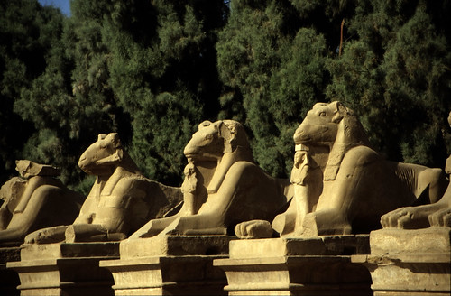 "Ägypten 1999 (341) Karnak-Tempel: Sphingenalleep • <a style=""font-size:0.8em;"" href=""http://www.flickr.com/photos/69570948@N04/29121105856/"" target=""_blank"">View on Flickr</a>"