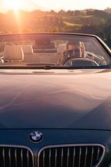 player I (stefanpaetzold) Tags: car auto boy man suit anzug mann bmw orange silber silver sun sunglasses sunset sonne