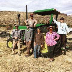 IMG_1440 (Oregon Natural Desert Association) Tags: denny jones ranch weed mat removal 2016 stewardship trips