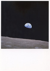 Apollo 8, Earthrise above the moon, 24/12/1968 (selphie10) Tags: apollo apollo8 earthrise moon space earth nasa museumofphotography huismarseille holland planets satellite amsterdam stars walkingonthemoon infinite emptyspace dark