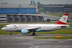 """""""Wrthersee"""" Austrian Airlines OE-LBT Airbus A320-214 cn/1387 @ EHAM / AMS 01-07-2016 (Nabil Molinari Photography) Tags: wrthersee austrian airlines oelbt airbus a320214 cn1387 eham ams 01072016"""