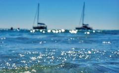 Azzurro (lubats) Tags: corsica corse macinaggio spiaggia mare bokeh dof pov vacanza estate sole barcheavela sailboat summer sea holiday travel sony azzurro light luce colori colors seascape boat flickraward autofocus sonyflickraward hbw capcorse ilce5100 beach blur