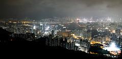 IMG_6652 (EarthToDin) Tags: city night hongkong lights peak hike feingoshan