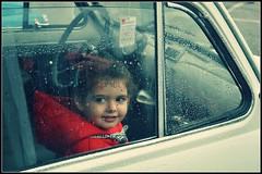 Today or... 50 years ago? (Stefy_P) Tags: cars rain vintage children flickr bambini memories past ricordi pioggia fiat500 passato automobili